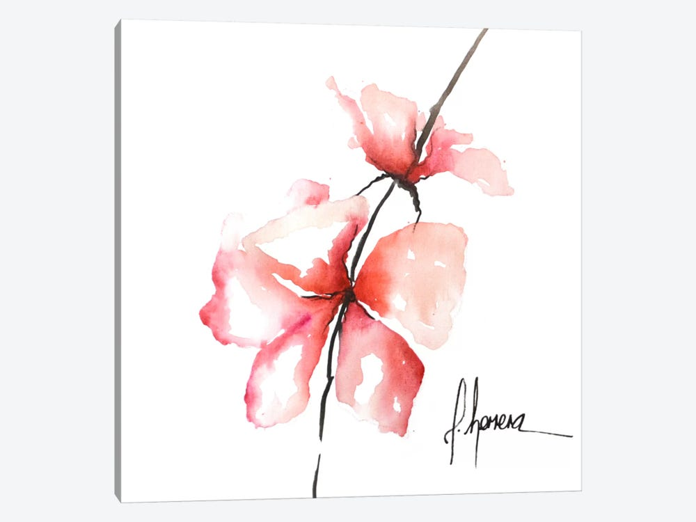 Bold Floral II by Leticia Herrera 1-piece Canvas Art Print