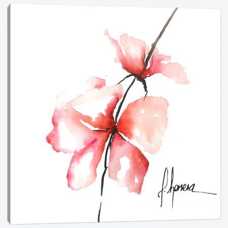 Bold Floral II Canvas Print #CIA5} by Leticia Herrera Canvas Wall Art