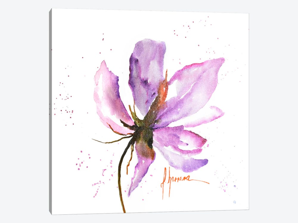 Bold Floral IV by Leticia Herrera 1-piece Canvas Print