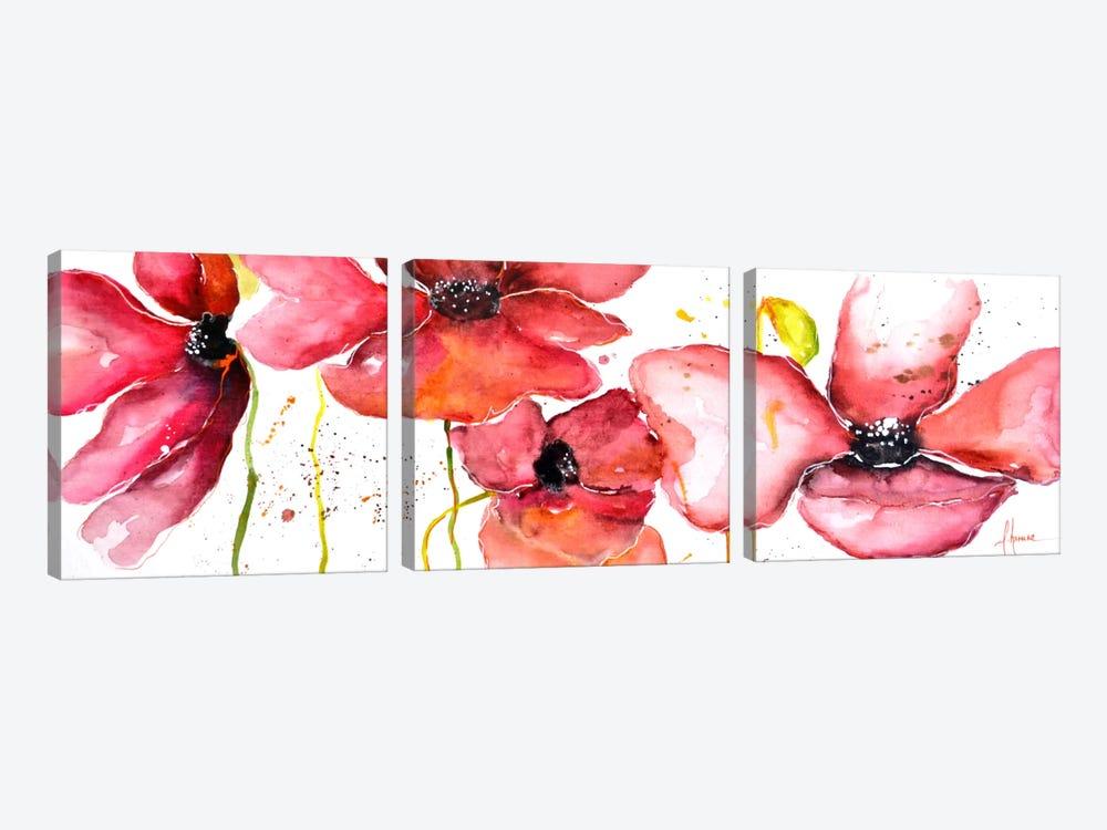 Campo by Leticia Herrera 3-piece Canvas Art