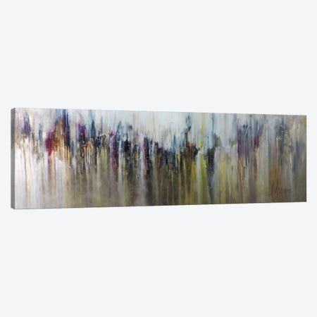 Cascada Metalica Canvas Print #CIA9} by Leticia Herrera Canvas Print