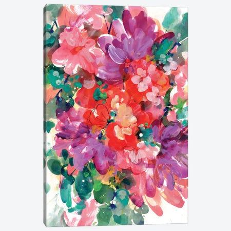 Bright Bloom Canvas Print #CIG10} by CreativeIngrid Canvas Print