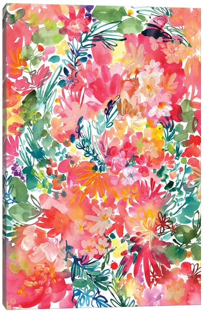 Endless Garden by CreativeIngrid Canvas Art Print