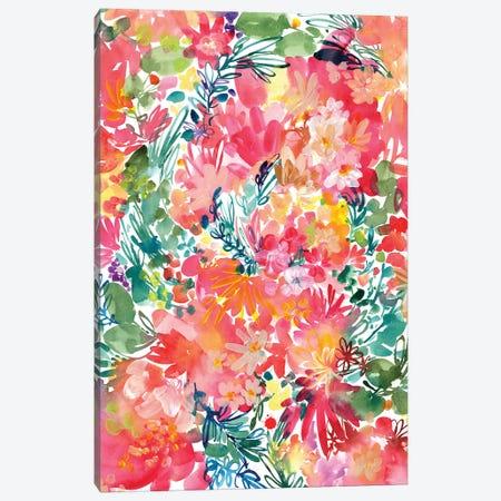 Endless Garden 3-Piece Canvas #CIG13} by CreativeIngrid Canvas Art Print