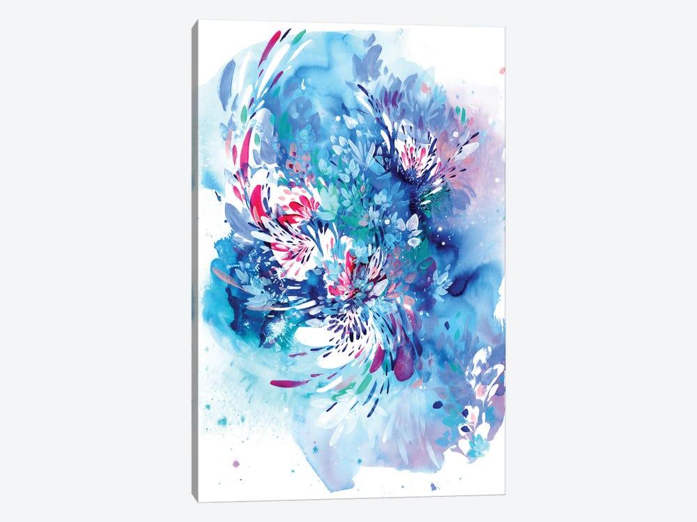 Floral Wave by CreativeIngrid 1-piece Art Print