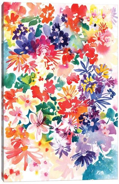 Garden In Bloom Canvas Art Print