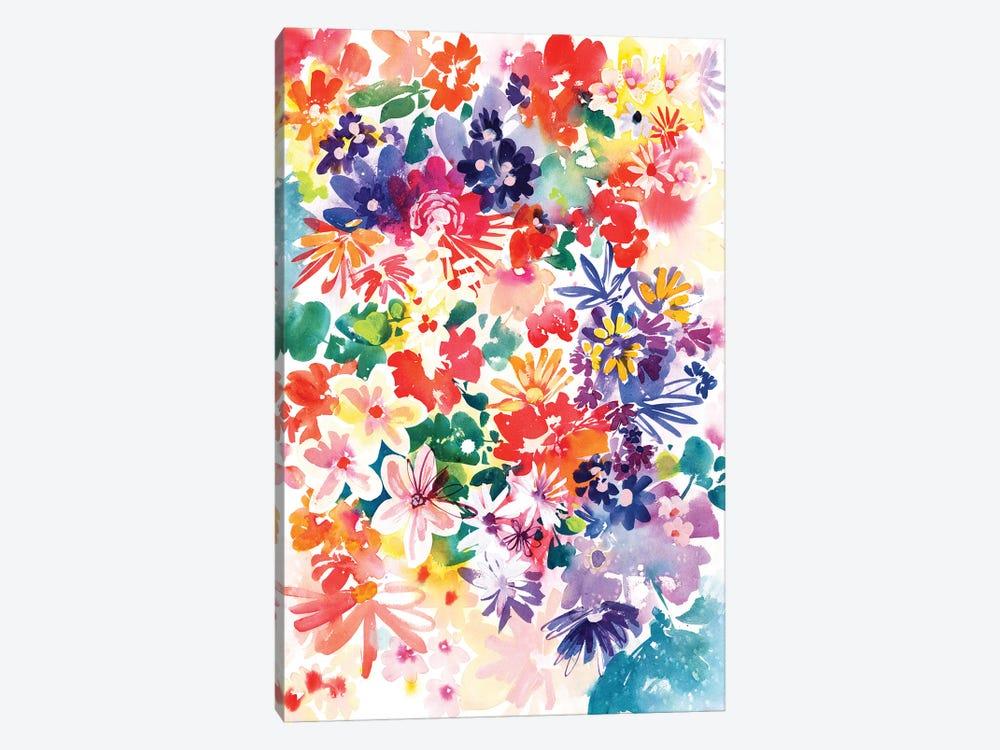 Garden In Bloom by CreativeIngrid 1-piece Canvas Art