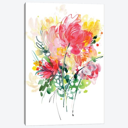 Hidden Rose Canvas Print #CIG25} by CreativeIngrid Art Print