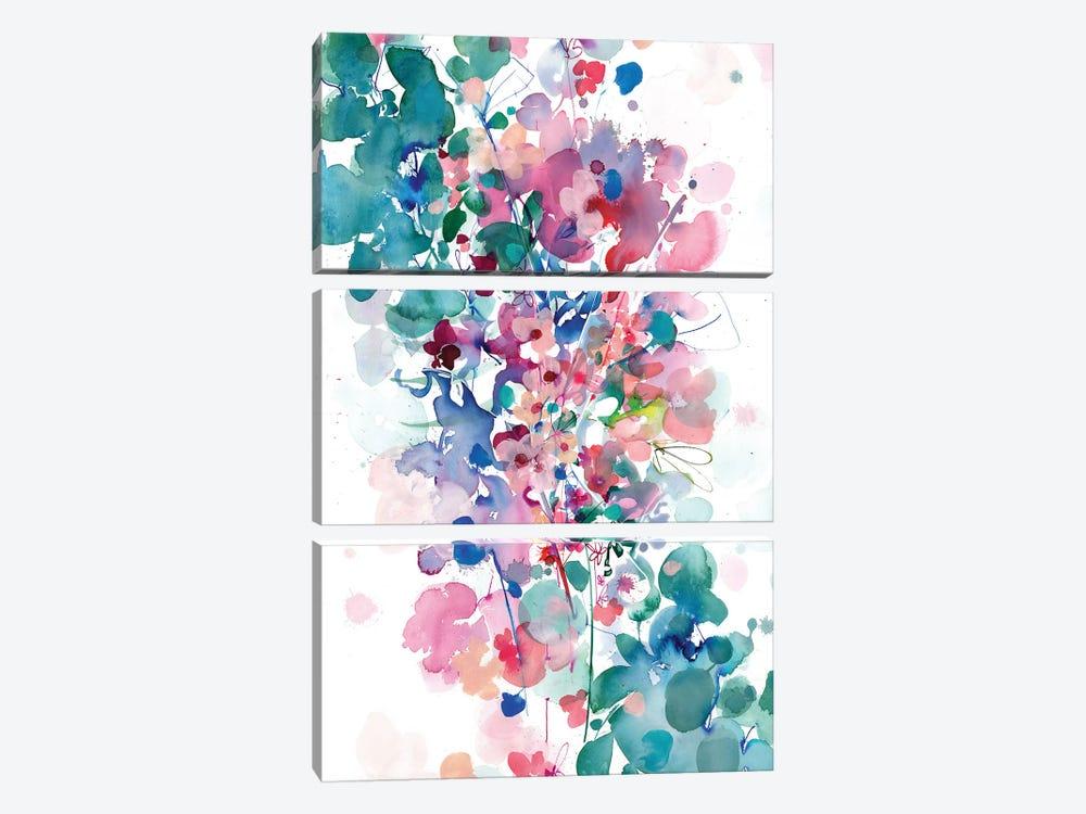 In Between by CreativeIngrid 3-piece Art Print