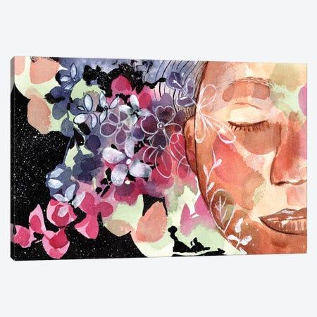 Listen 3-Piece Canvas #CIG27} by CreativeIngrid Canvas Print