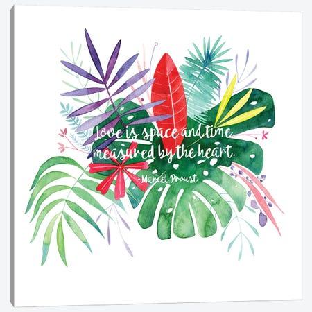 Love Quote Canvas Print #CIG28} by CreativeIngrid Canvas Artwork