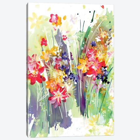Meadow Canvas Print #CIG29} by CreativeIngrid Canvas Artwork