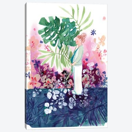 Mom To Be Canvas Print #CIG30} by CreativeIngrid Canvas Print