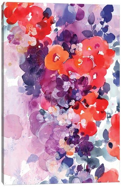 Orange Bloom Canvas Art Print