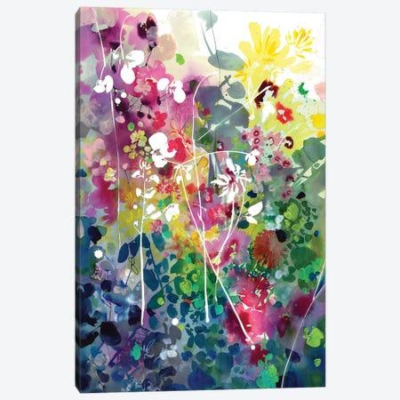 Silhouettes Canvas Print #CIG36} by CreativeIngrid Canvas Artwork