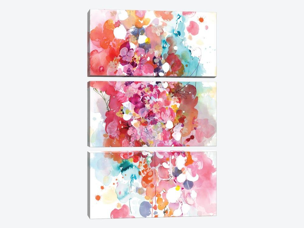 Sweet Dream by CreativeIngrid 3-piece Canvas Art Print