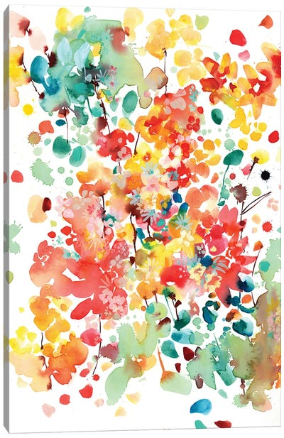 Thrive by CreativeIngrid Canvas Art Print