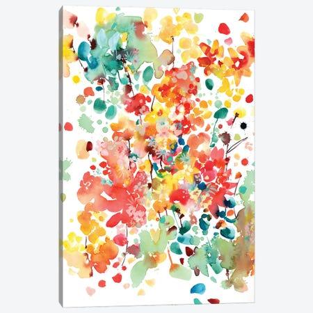 Thrive 3-Piece Canvas #CIG41} by CreativeIngrid Canvas Art