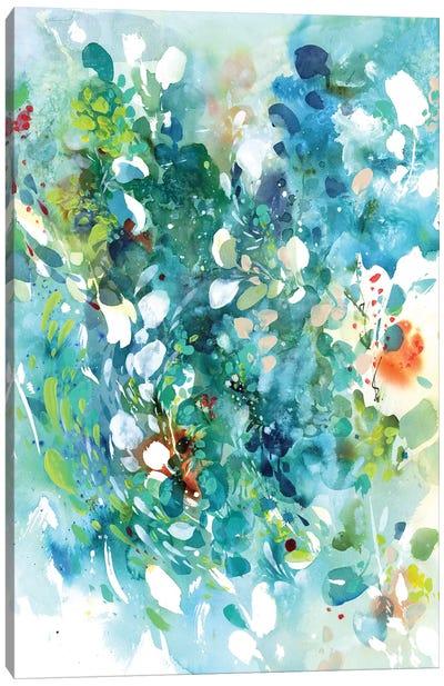 Turquoise Dance Canvas Art Print
