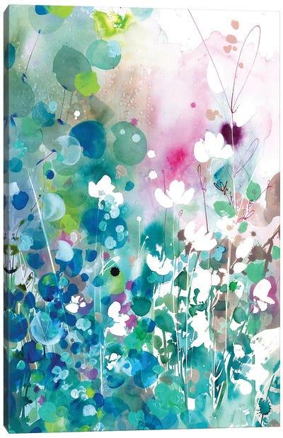 Turquoise Wave Canvas Art Print