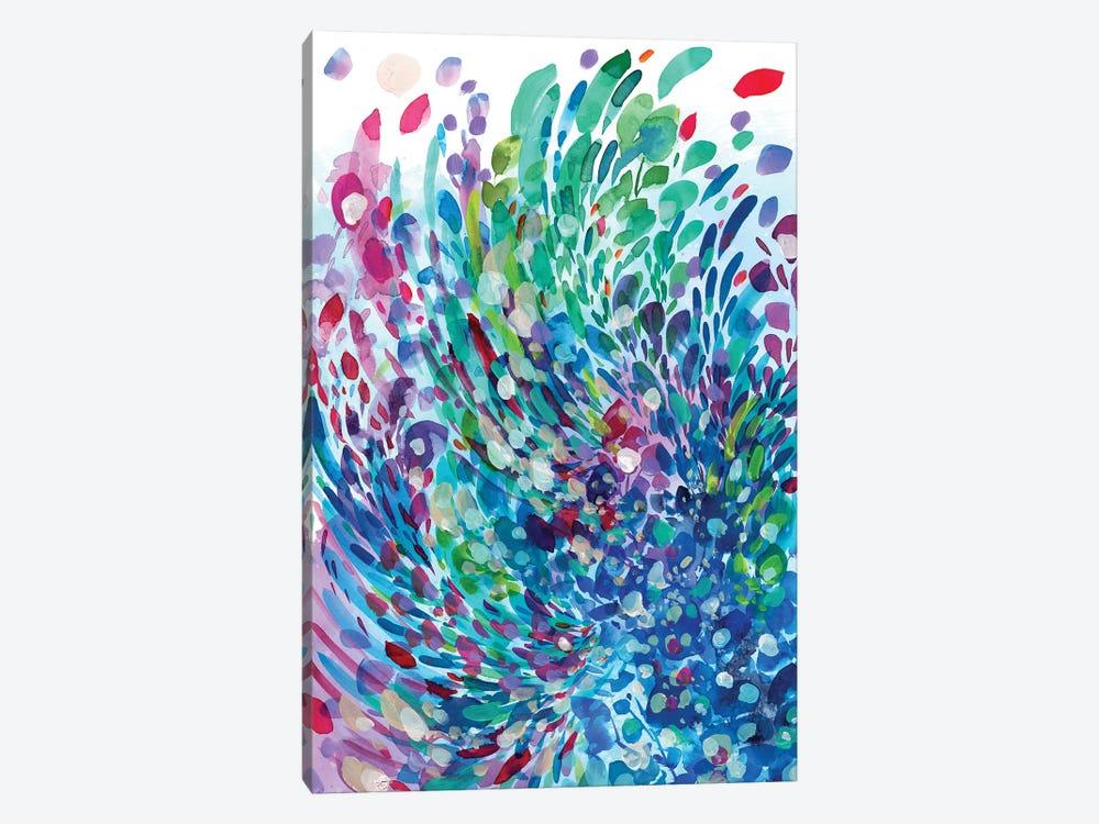 Wave by CreativeIngrid 1-piece Canvas Artwork