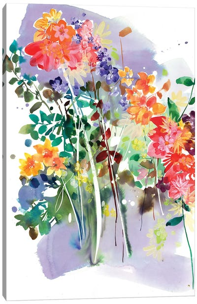 Wildflower by CreativeIngrid Canvas Art Print