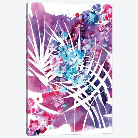 Wild Palm 3-Piece Canvas #CIG49} by CreativeIngrid Canvas Artwork