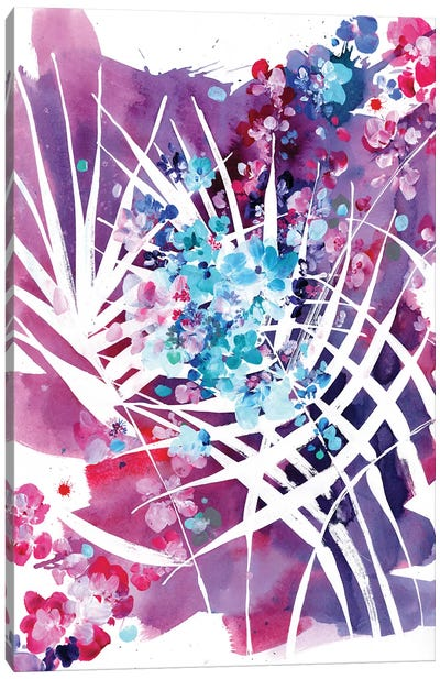 Wild Palm Canvas Art Print