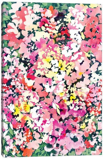 Floral Immersion Canvas Art Print