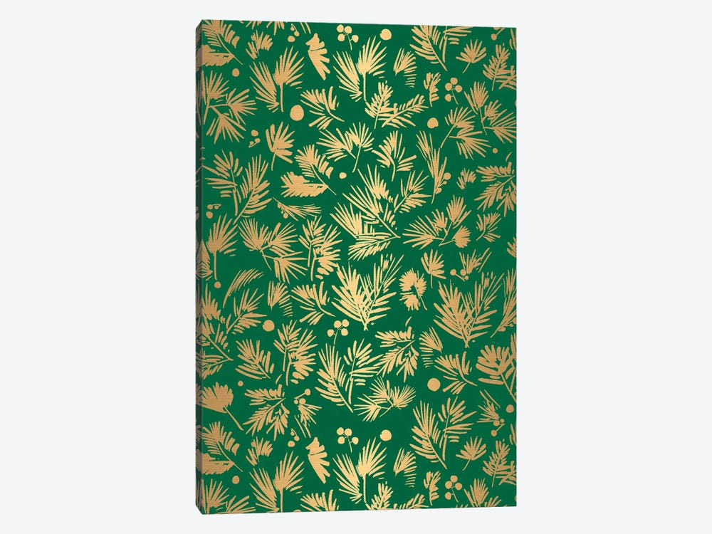 Gold Pattern Card by CreativeIngrid 1-piece Canvas Artwork