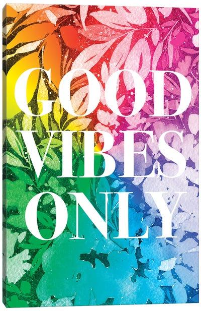 Good Vibes Only Canvas Art Print