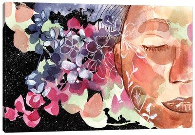Listen Canvas Art Print