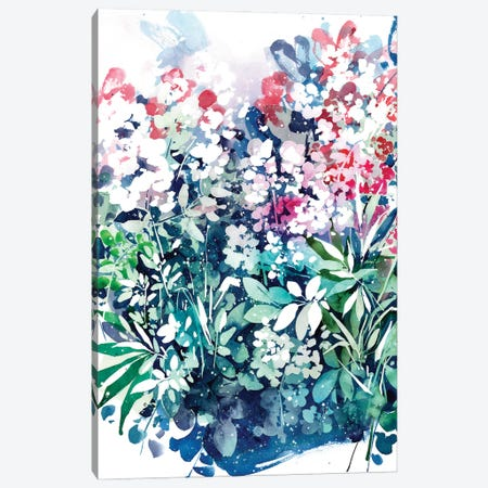 Meanwhile Garden Canvas Print #CIG67} by CreativeIngrid Canvas Art Print