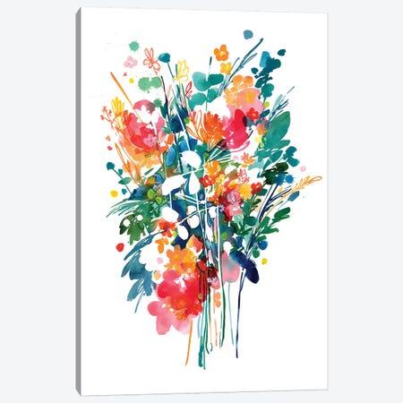 Big Bouquet Canvas Print #CIG6} by CreativeIngrid Canvas Artwork