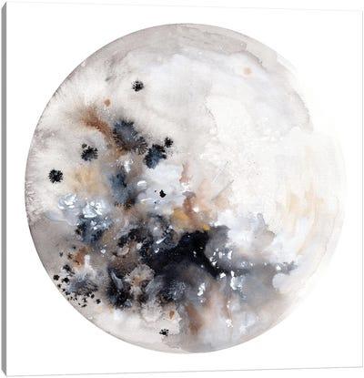 Silver Moon Canvas Art Print