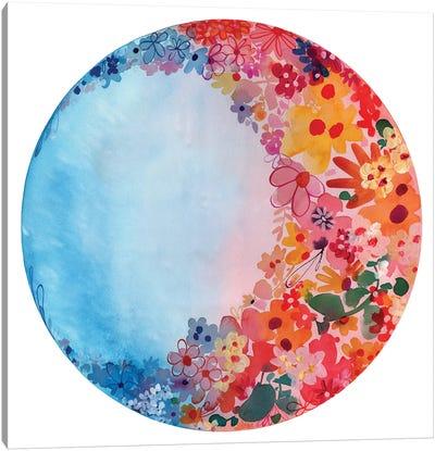 Sweet Moon Canvas Art Print