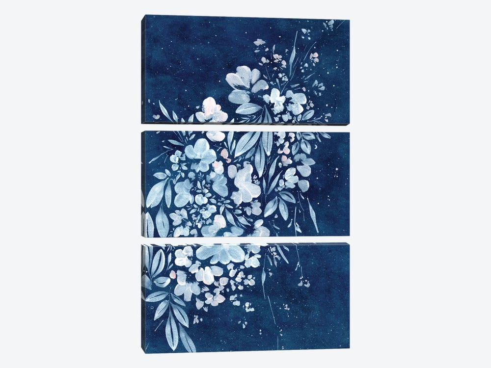 Blue Wish by CreativeIngrid 3-piece Art Print