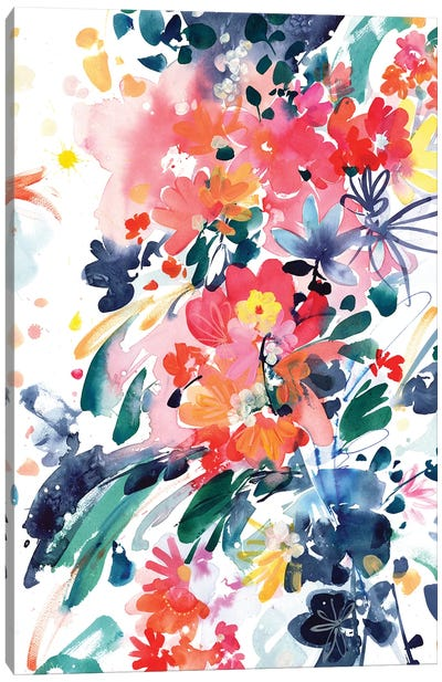 Blooming Wild Canvas Art Print