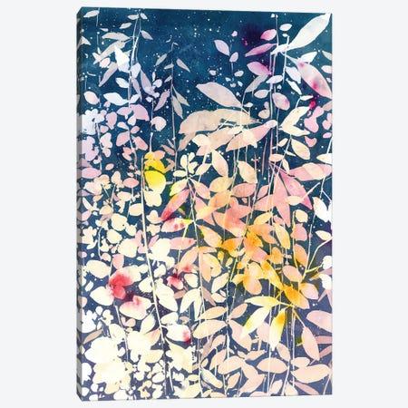 Falling Leaves Canvas Print #CIG80} by CreativeIngrid Canvas Art