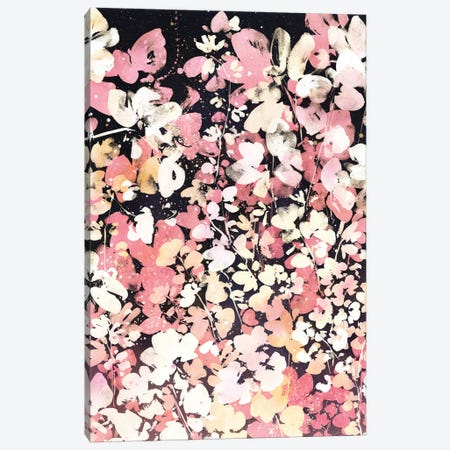 Floral Rise Canvas Print #CIG81} by CreativeIngrid Canvas Artwork
