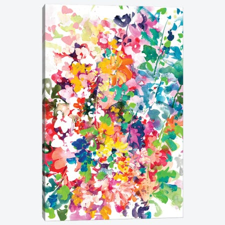 Flowers Of Autumn Canvas Print #CIG82} by CreativeIngrid Canvas Wall Art