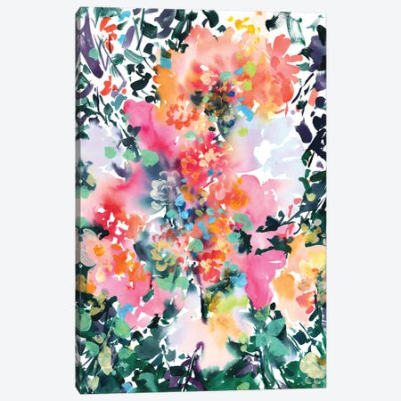 Into The Fall Canvas Print #CIG84} by CreativeIngrid Canvas Art Print