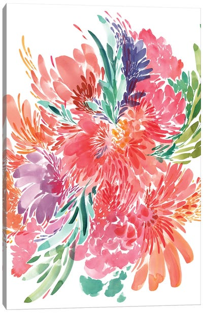 Bold Bouquet Canvas Art Print