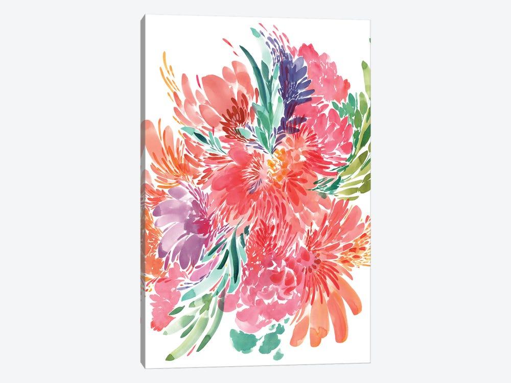 Bold Bouquet by CreativeIngrid 1-piece Canvas Artwork
