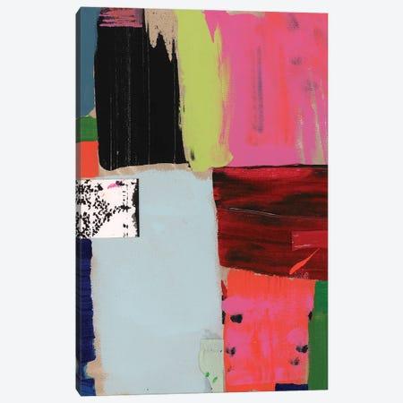 Pink Blocks IV Canvas Print #CII18} by Cartissi Canvas Art Print