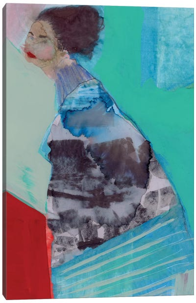 Walking Woman III Canvas Art Print