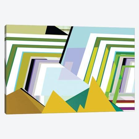 Yellow Mountains II Canvas Print #CII50} by Cartissi Canvas Art Print