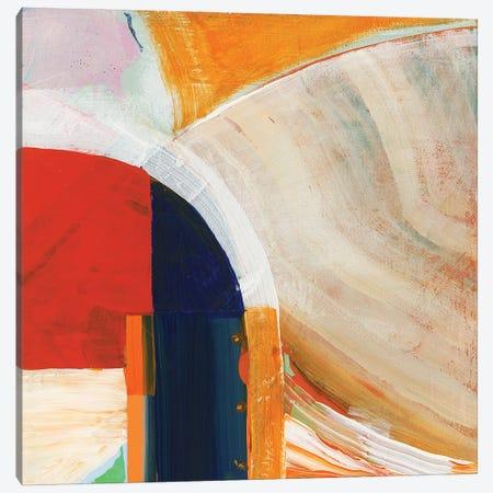 Blue Orange I Canvas Print #CII7} by Cartissi Canvas Wall Art