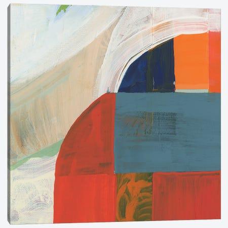Blue Orange III Canvas Print #CII9} by Cartissi Art Print