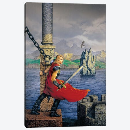 Bedwyr Canvas Print #CIL10} by Ciruelo Canvas Wall Art